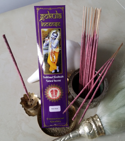 Pink Rose Incense Sticks - 20 grams